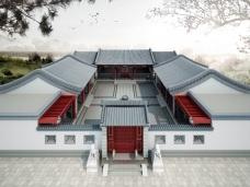 中式风格-650平米别墅装修图片