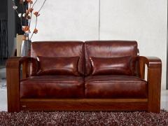 【北欧篱笆】非洲海棠木实木家具沙发单人位双人位三人位