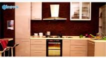 欧睿宇邦 UV烤漆闪银整体厨房图片