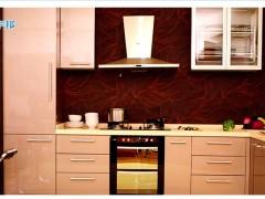 欧睿宇邦 UV烤漆闪银整体厨房