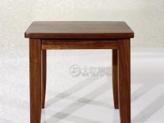 北欧篱笆纯北美黑胡桃梳妆凳纯实木梳妆凳凳子化妆凳卧室凳子