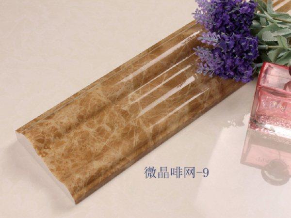 微晶石线条浅啡网-9