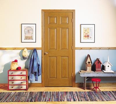 美国艺王CraftMaster 新大陆 油漆门 实木复合