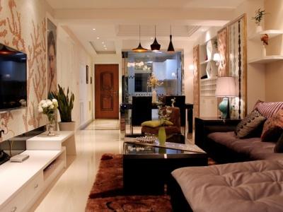 现代简约-110平米二居室装修设计