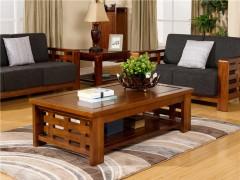 宜华家居 纯实木茶几 功夫茶几 现代简约中式家具 J033