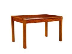 宜华现代简约餐厅家 纯实木餐桌 6人长方形餐桌 H001