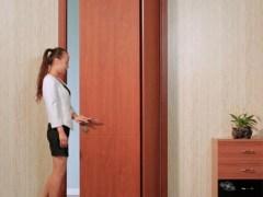 TATA木门 平折门 实木复合免漆室内房间木门
