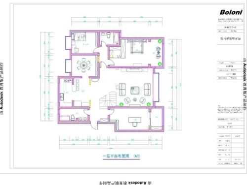 晨曦家园-复式245平-简约地中海风格图片