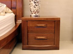 【逛蠡口】木之家简约现代卧室纯实木3C021床头柜