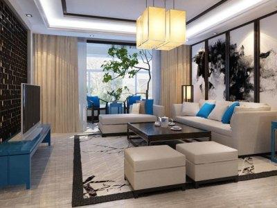 中式风格-190平米五居室装修设计