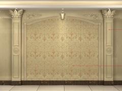 人造石拉菲经典背景墙