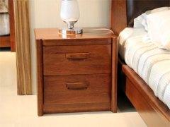 【逛蠡口】木之家简约现代卧室纯实木3C012床头柜