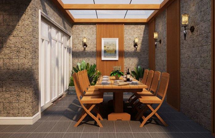 新古典风格-270平米四居室-装修样板间