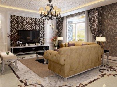 西式古典-270平米四居室装修样板间