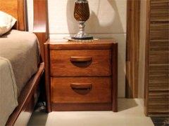 【逛蠡口】木之家简约现代100%纯实木海棠木3C011床头柜