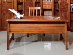 【逛蠡口】木之家简约现代书房海棠木纯实木3F04书桌