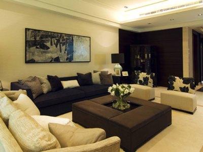 台式风格-180平米四居室装修样板间