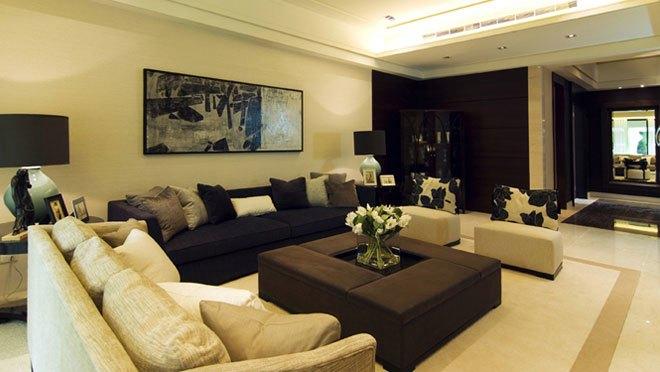 台式风格-180平米四居室-装修样板间
