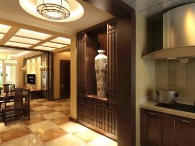 西式古典-90平米二居室装修样板间
