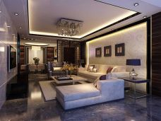 中式风格-153平米四居室装修图片