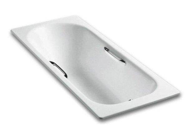 科勒Kohler索尚铸铁浴缸(含扶手) K-943T-GR