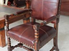 麦好木梅杰卡森经典美式扶手椅