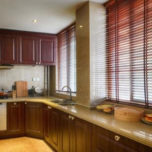 新中式厨房橱柜装修效果图大全图片