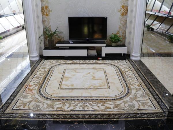 冠珠陶瓷 微晶拼花系列 高档微晶石地板砖
