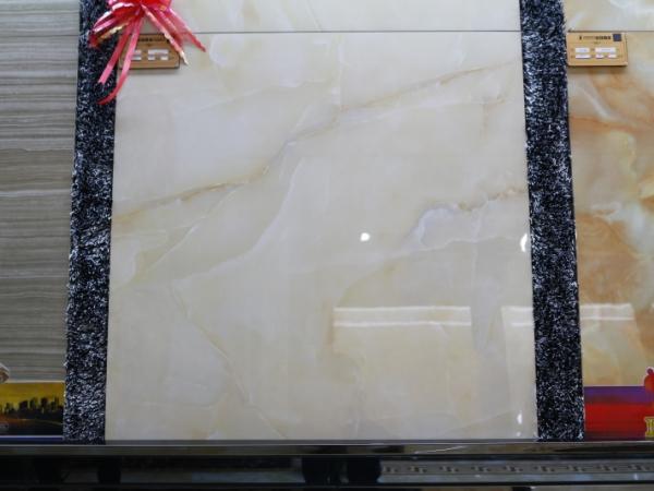 冠珠陶瓷 冰花玉石系列 全抛釉瓷砖80893#