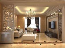 简欧风格-138平米四居室装修图片