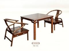 一木一心 休闲椅 现代新中式家具休闲椅 老榆木仿古椅子