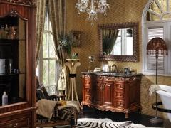 席丹卫浴系列美式风格浴室柜8028B