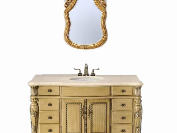 席丹卫浴系列美式乡村风格浴室柜8029(中)