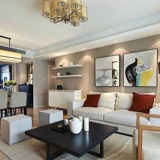 现代简约一居室装修效果图