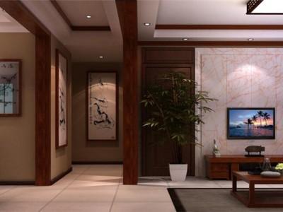 中式古典-163平米四居室装修样板间