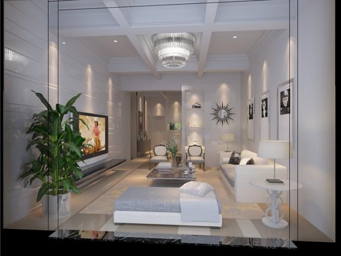 欧美风情-153平米四居室-装修设计
