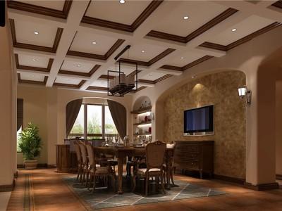 新古典风格-153平米四居室装修设计