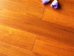 森林之旅柚木地板-普通直纹(蓝标)