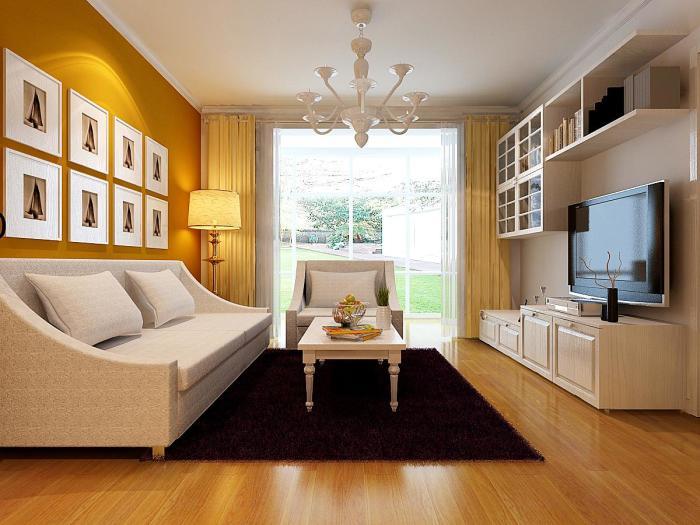 现代简约-89.99平米二居室-装修样板间