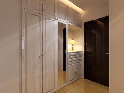 现代简约-89.99平米二居室装修样板间