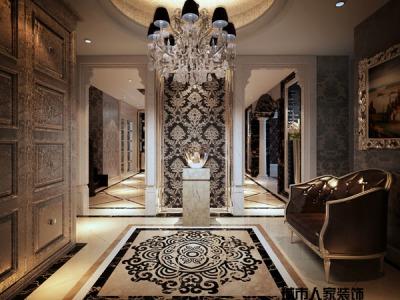 西式古典-301平米六居室以上装修样板间