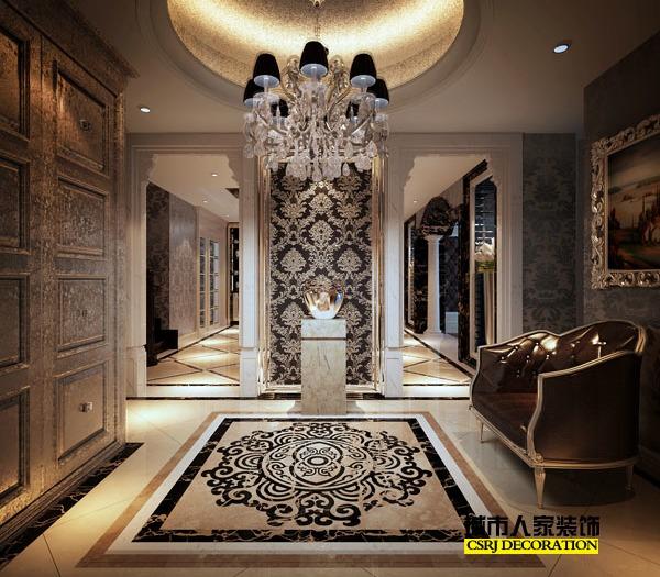 西式古典-301平米六居室以上-装修样板间