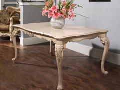 美立方外贸家具法式餐桌