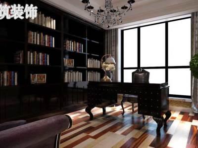 欧美风情-323.45平米四居室装修样板间