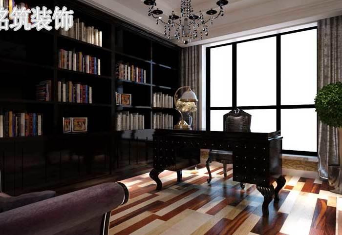 欧美风情-323.45平米四居室-装修样板间