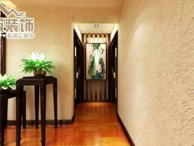 中式风格-164平米四居室装修设计