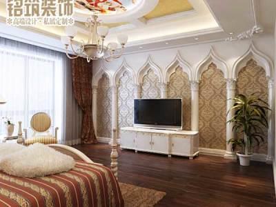 西式古典-380平米别墅装修设计