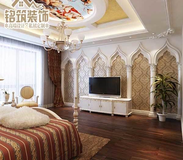 西式古典-380平米别墅-装修设计