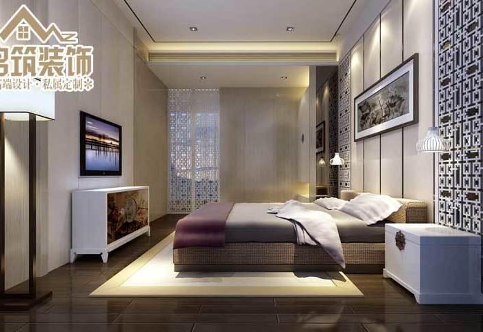 中式风格-100.51平米二居室-装修设计