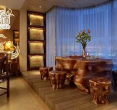 新天地美域-中式古典-三居室
